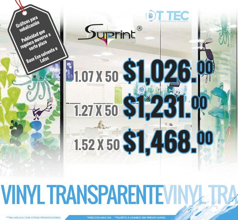 Vinyl Transparente Slite