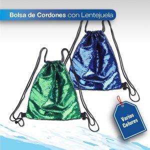 imagen de producto mochila de cordones son lentejuelas