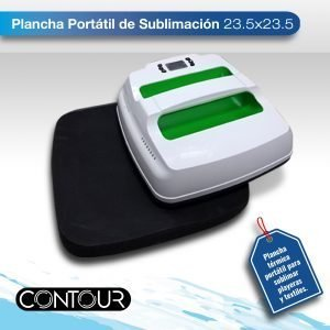 Imagen de producto de plancha para subllimar portatil